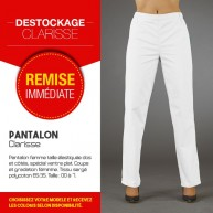 Pantalon médical ventre plat