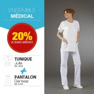 Ensemble tunique JULIA pantalon CLARISSE